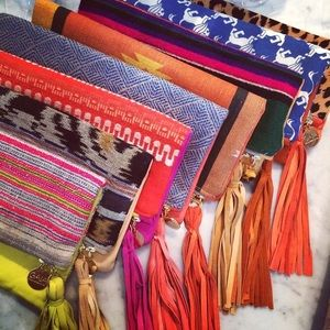 GAIA Empoweredwomen African Batik Fold-over Clutch